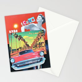 Auto Icon Stationery Cards