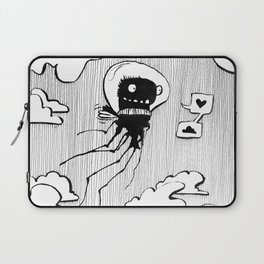 Flying squid – Seppiolina volante Laptop Sleeve