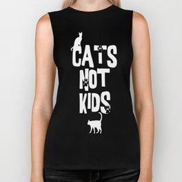 Cats Not Kids 2 Biker Tank