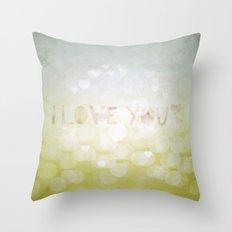innocently Throw Pillow