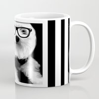 ewok Mugs featuring Ewok. A dogs Life  by Kristy Patterson Design