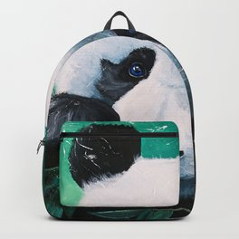 Panda - A little peckish - by LiliFlore Backpack