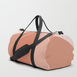 Coral Petals Duffle Bag