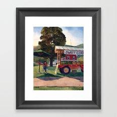 Farm Fresh Framed Art Print