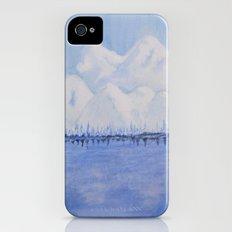 Alaskan Mountains iPhone (4, 4s) Slim Case