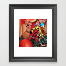 Voladora Framed Art Print