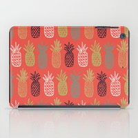 pineapples iPad Cases featuring Pineapples by Annie Smith Designs