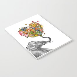 Happy Elephant  Notebook