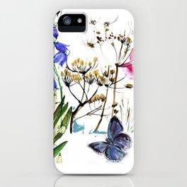 Wild Flowers Field iPhone Case