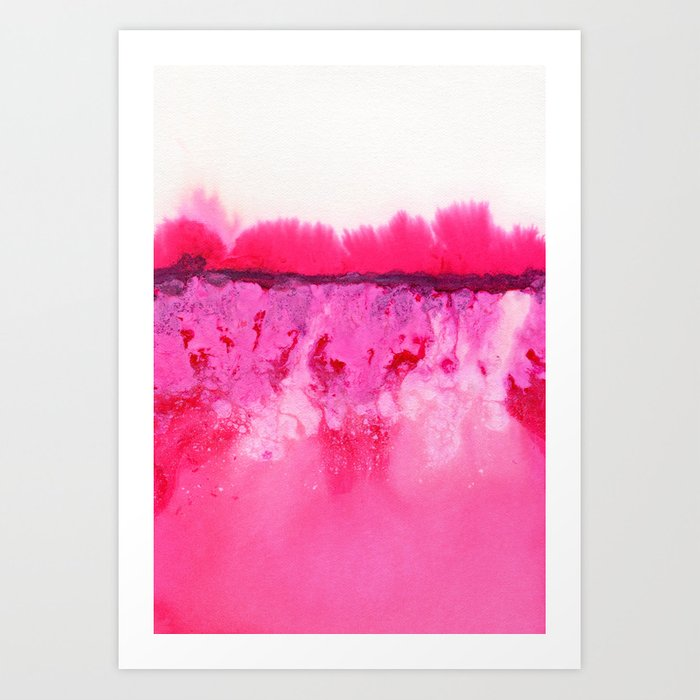 Melted Art Print