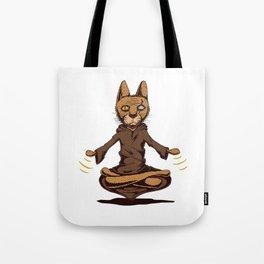 Jedi cat Tote Bag
