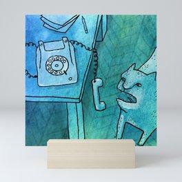 Hello? Mini Art Print