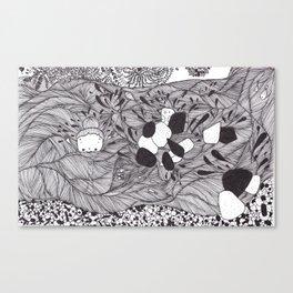 underwater spirit Canvas Print