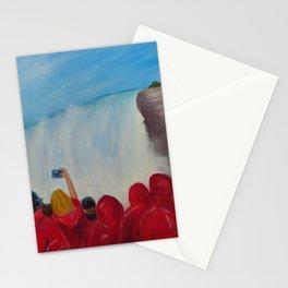 Crowd at Niagara Falls Stationery Cards