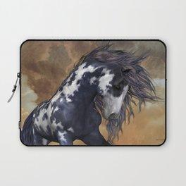 Storm, wild horse, fantasy Laptop Sleeve