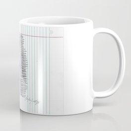 Pointe in Pen Coffee Mug