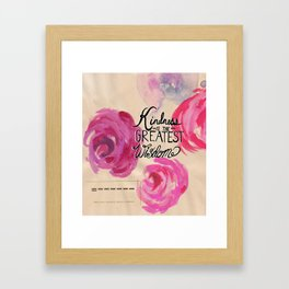 What Ella Taught Me Framed Art Print