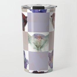 Vagina Portrait Quilt Travel Mug