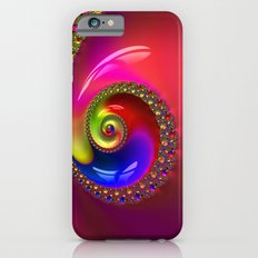 Fractal Shell Colorful iPhone 6s Slim Case