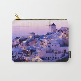Santorini Night Carry-All Pouch