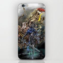Dark Souls Knights of Gwyn iPhone Skin