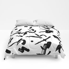 stroked Comforters