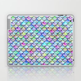 Rainbow Bubble Scales Laptop & iPad Skin