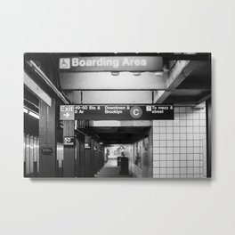 Brooklyn & Uptown Metal Print