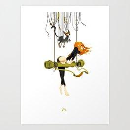 """"""" Lili Bazooka """" Art Print"""