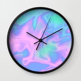 Candyfloss Sky Wall Clock