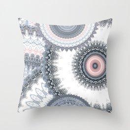 Mandala Love Throw Pillow