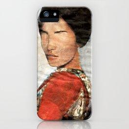 Geisha/Newspaper Serie iPhone Case