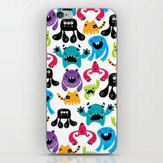 Monster pattern iPhone & iPod Skin