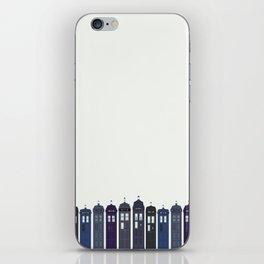 Tardises iPhone Skin