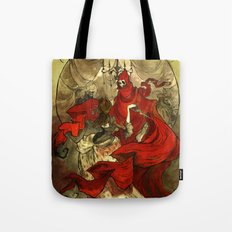 Masque of the Red Death Tote Bag