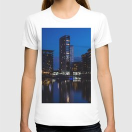 Clarence Dock at Dusk T-shirt