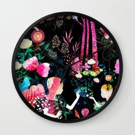 cosmic garden Wall Clock