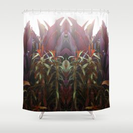 BEETROOT QUEEN Shower Curtain