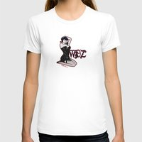 pinup T-shirts featuring PinUp by Mack Wisedzines Tompkins III