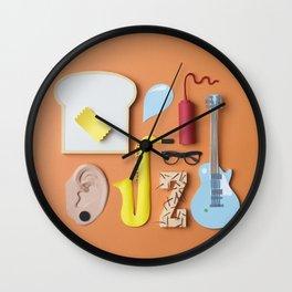 PAPER MINGLE MANGLE Wall Clock