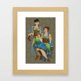 Eurwen Framed Art Print