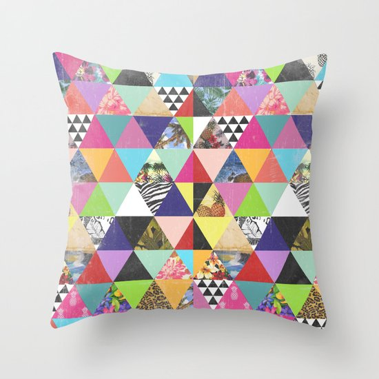 A bit of tropical geometry Throw Pillow