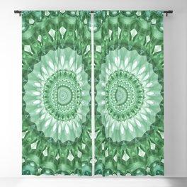 Emerald Green Mandala Blackout Curtain