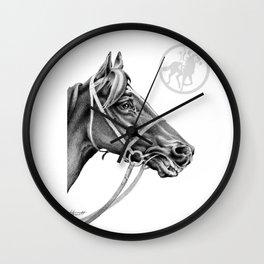 Veloso Racehorse NZ Wall Clock