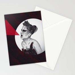 Black Swan IV Stationery Cards