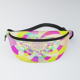 Bright & Pastel Kaleidoscope Fanny Pack