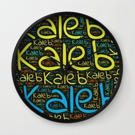 Kaleb Wall Clock