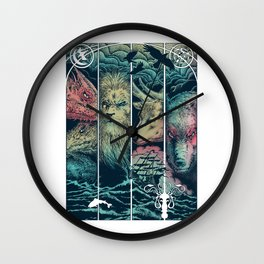 Game of Animals Wall Clock
