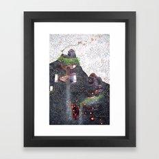 Physalis alkekengi Framed Art Print