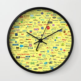 S&P 500 Montage Wall Clock